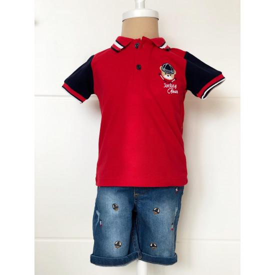 """Детска блуза и дънки за момче """" Мече"""" Piccole"""