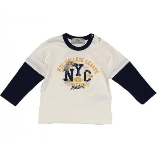 "Бебешка блуза за момче ""NYC"" на Bikkembergs"