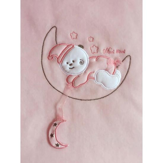 """Бебешко ватирано одеяло """"Луна"""" на NINII MINNI"""