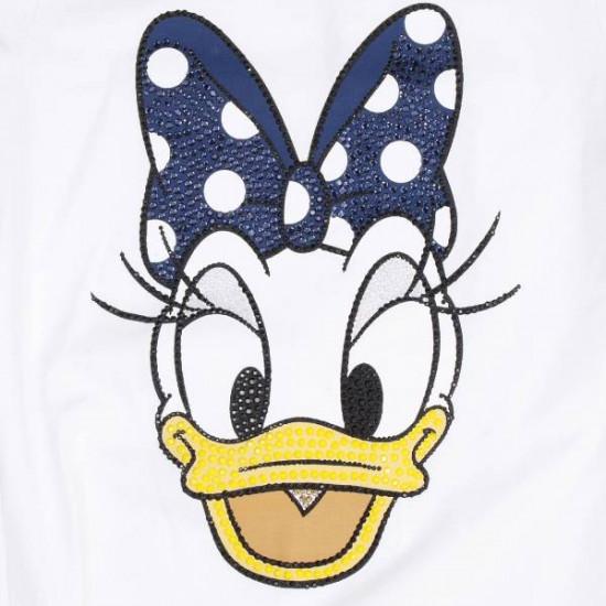 """Блуза с къс ръкав """"Daisy Duck"""" на MONNALISA"""