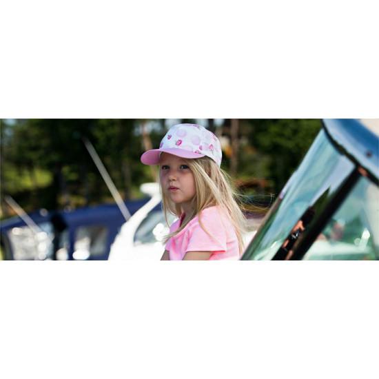 Лятна детска шапка с козирка и UV защита за момиче на Jamiks