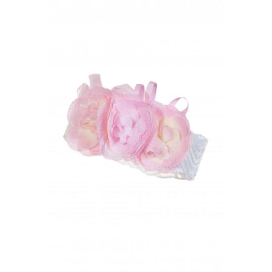 Бебешка дантелена лента за глава с цвете за момиче Jamiks