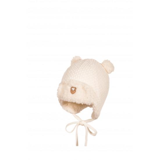 Бебешка зимна шапка за момче с ушички Jamiks