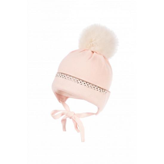 """Зимна бебешка шапка за момиче """"Shea"""" Jamiks"""