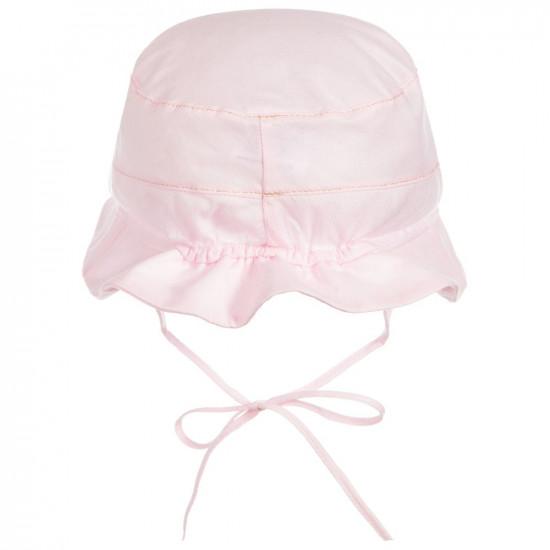 """Бебешка лятна шапка в розово за момиче """" Grecia"""""""
