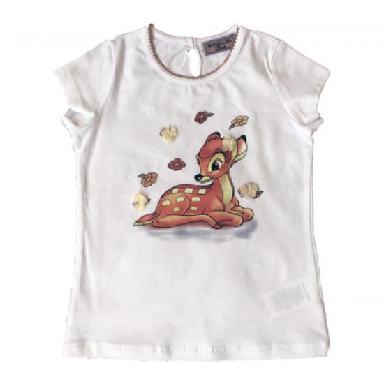 """Бебешка блуза """"Bambi"""" за момиче на"""
