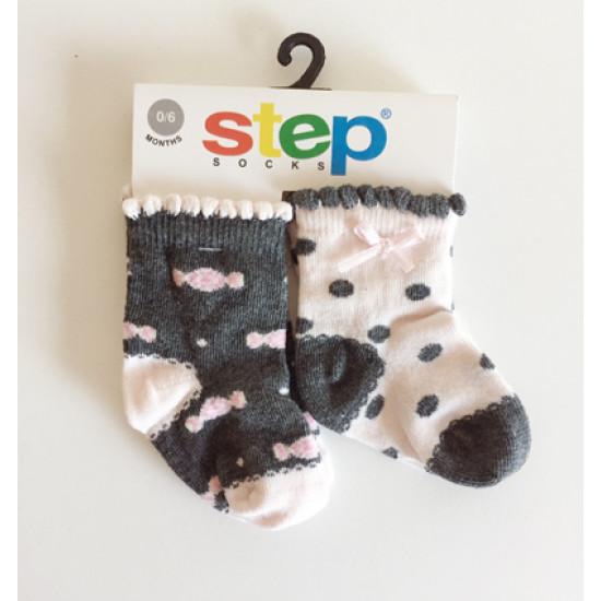 """Детски чорапи """"Бонбони"""" за момиче Step"""