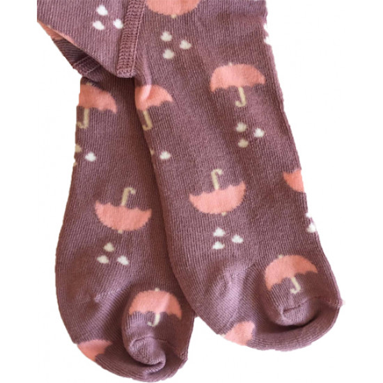 """Детски чорапогащник с принт """"Чадър"""" за момиче Step"""