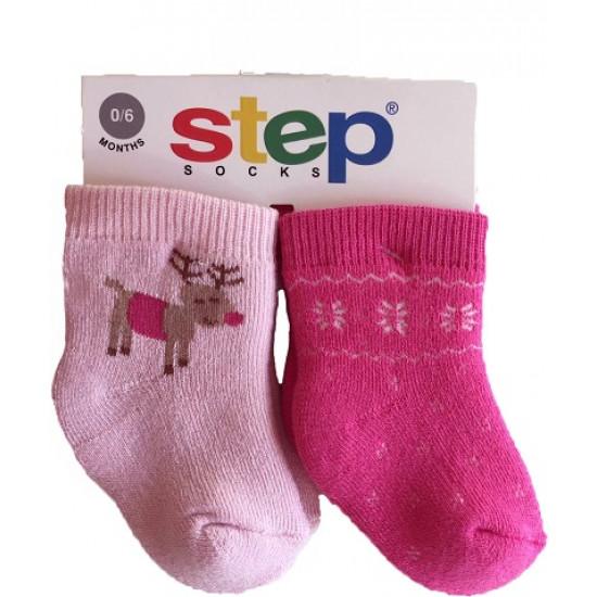 """Коледни чорапи """"Еленче"""" на STEP"""