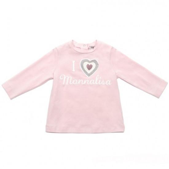 """Блуза """"Love"""" за момиче на MONNALISA"""