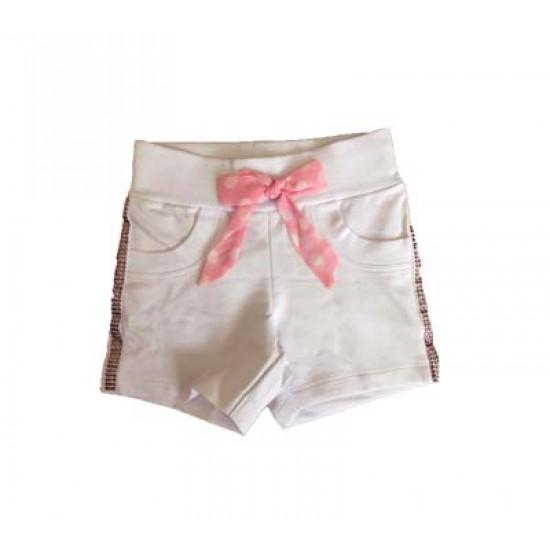 """Къси панталони с камъни """"Pink Panther"""" на MONNALISA"""