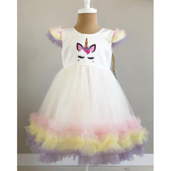 Детска официална рокля Unicorn