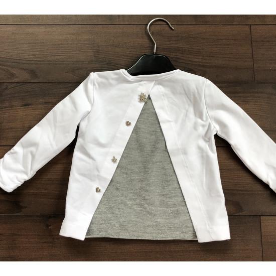 """Бебешка блуза """"Мече"""" за момиче на ELSY"""