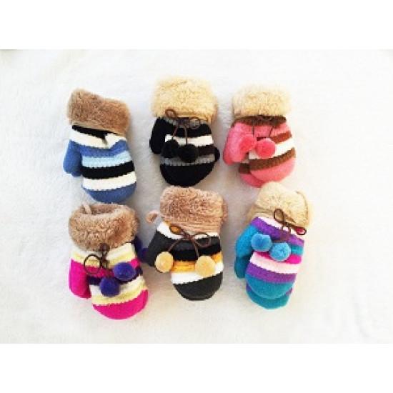 Бебешки пухкави ръкавици
