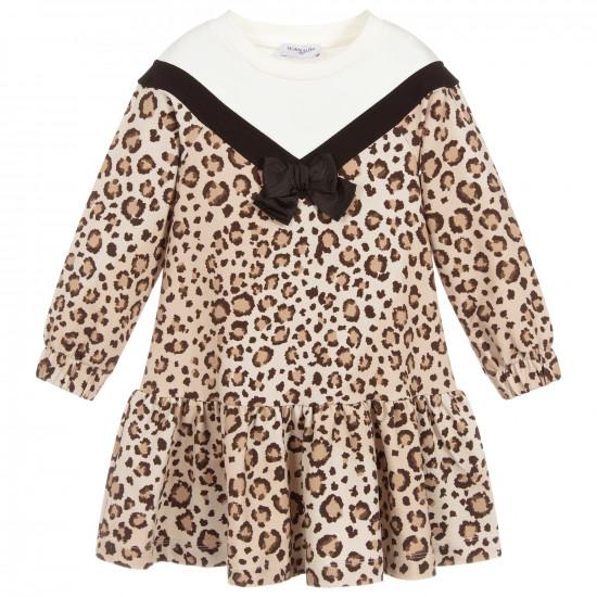 """Детска зимна рокля """"Леопард"""""""