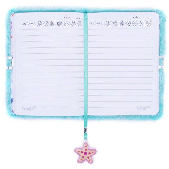 """Таен дневник за момичета с плюшени корици """"Русалка"""""""