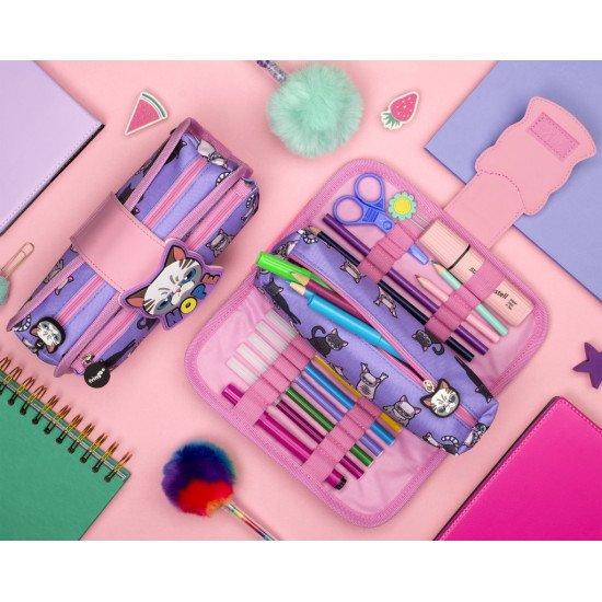"Несесер за моливи и химикалки ""NOPE CAT"""