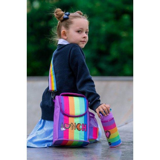 """Детска термо чанта за храна """"Сърце"""""""