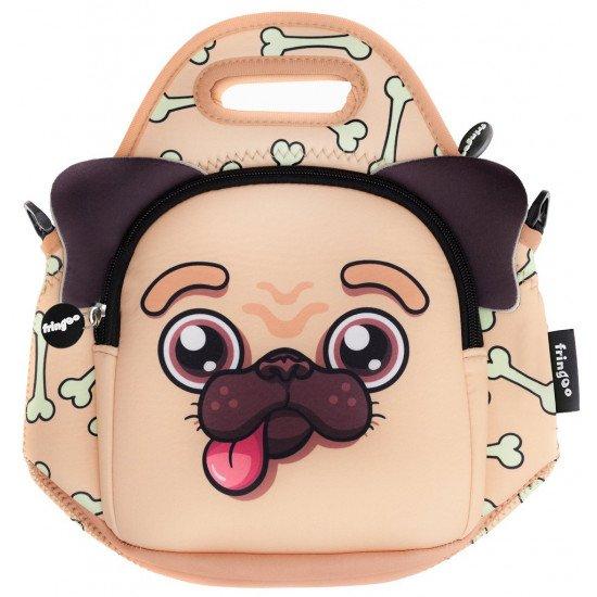 """Детска чанта за обяд """"Мопс"""""""