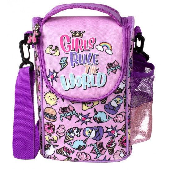 """Детска термо чанта за храна """"Girls Rule"""""""