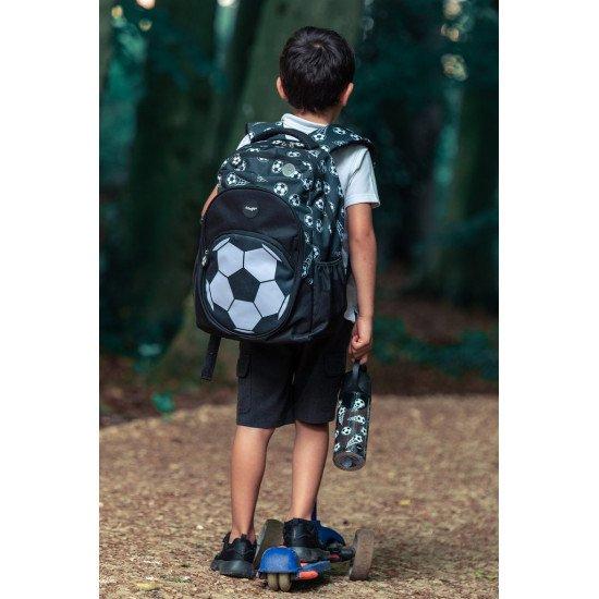 """Детска ученическа раница за момче """"FOOTBALL BLACK"""""""