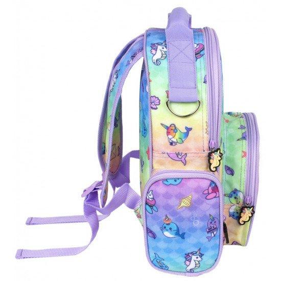 Детска раница за момиче с морски мотив