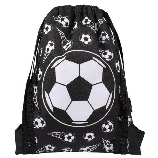 """Детска раница за спорт с връзки за момче  """"FOOTBALL BLACK"""""""