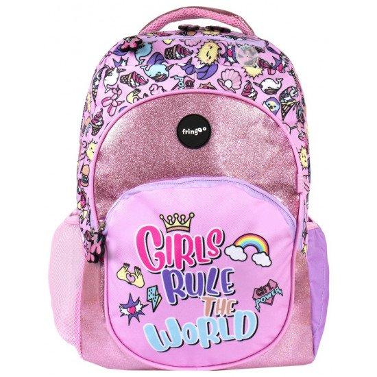 Детска раница за училище за момиче - GIRLS RULE