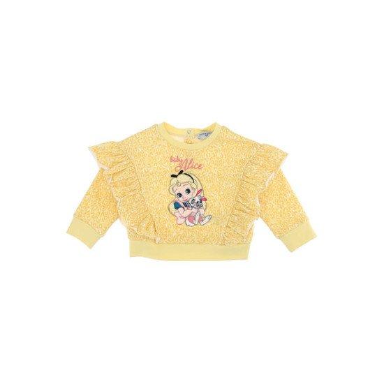 """Бебешки топ в жълто """"Алиса"""""""
