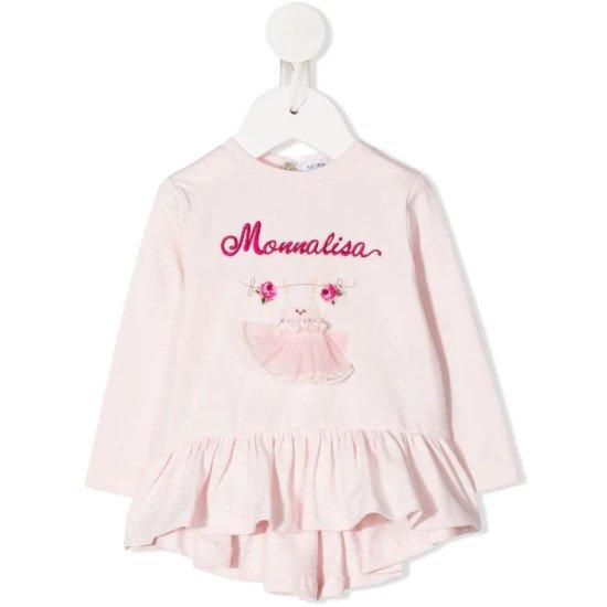 "Бебешка туника в розово "" Рокля"""