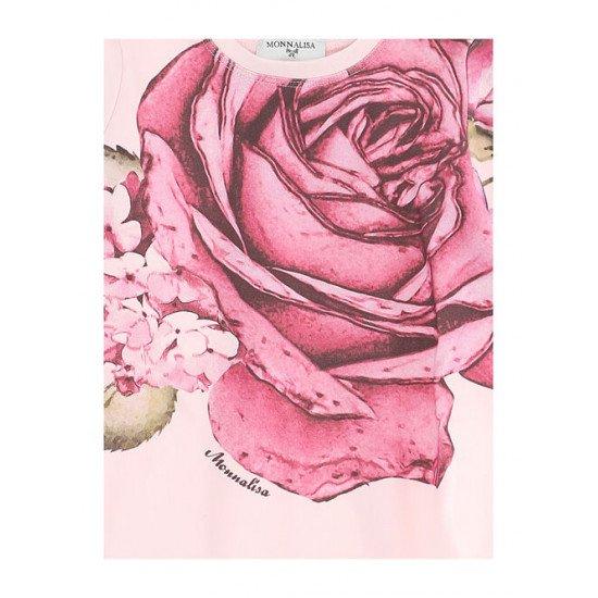 """Детска туника за момиче """"Роза"""" в розово"""