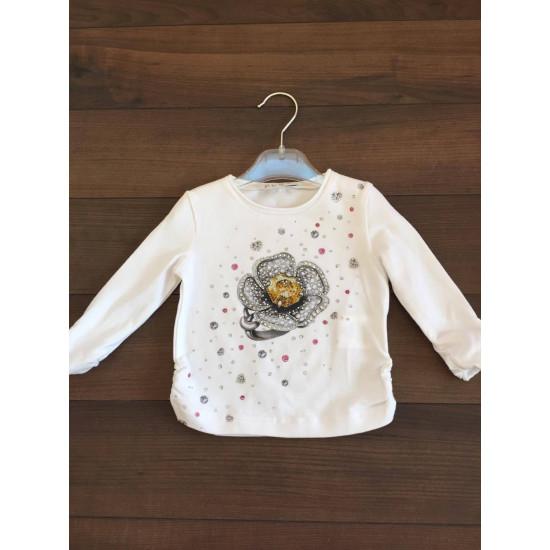 """Детска блуза за момиче """"Цвете"""" на ELSY"""