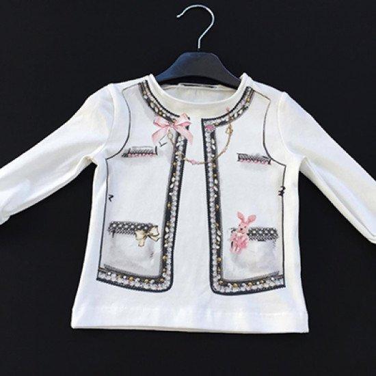 """Детска блуза за момиче """"Елече"""" на Elsy"""