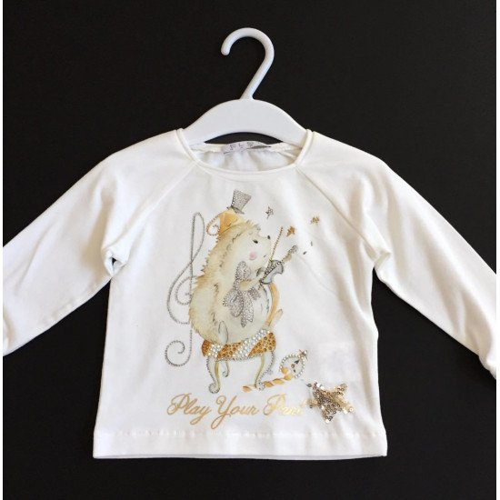 "Детска блуза за момиче ""Музикант"" на ELSY"