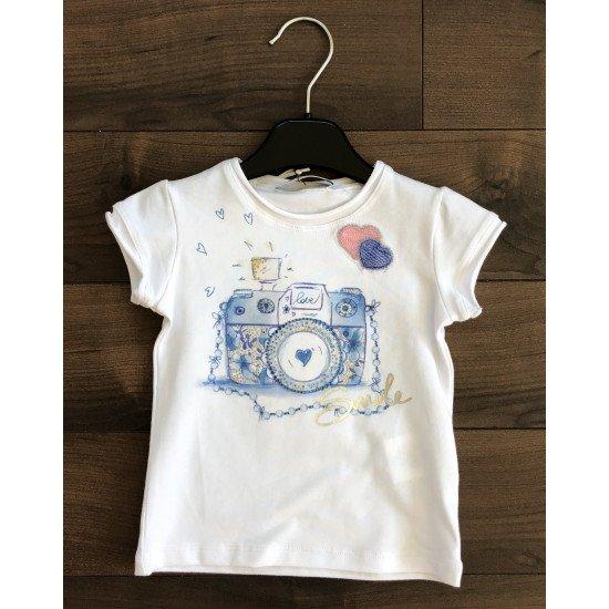 """Детска лятна блуза за момиче """"Фотоапарат"""" ELSY"""