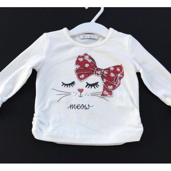 "Детска блуза ""Котешки очи"" за момиче на ELSY"