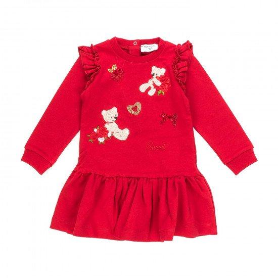 Бебешка рокля с Мече на MONNALISA