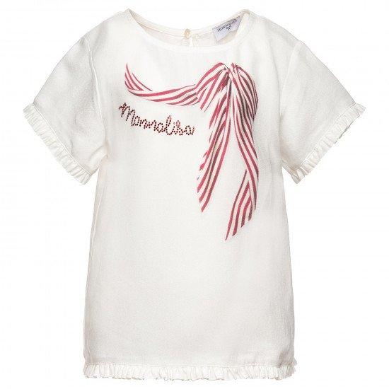 Детска официална блуза за момиче