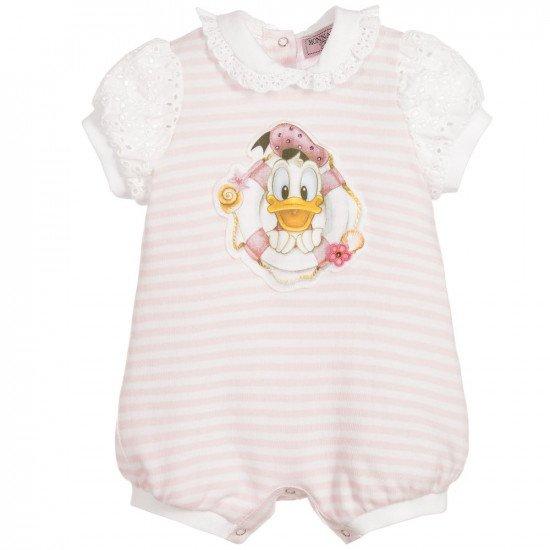 """Бебешки летен гащеризон за момиче """"Donald Duck"""""""
