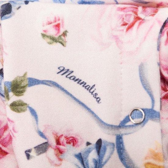 """Бебешки ромпър """"Цветя"""" за момиче на MONNALISA"""