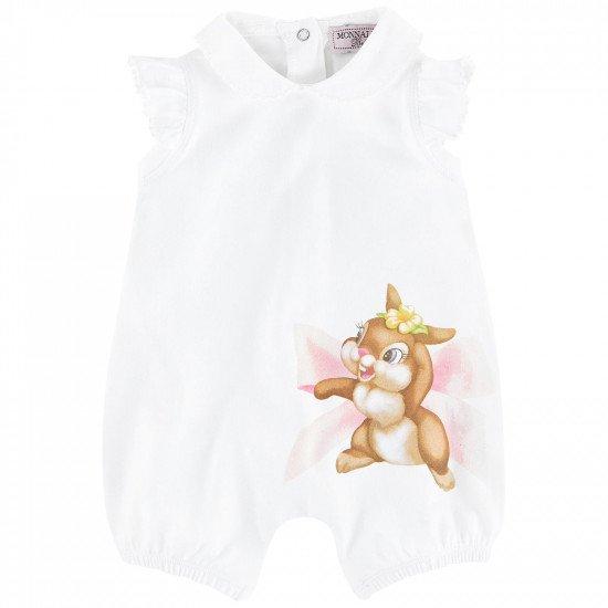 Бебешки гащеризон- шорти със Зайче за момиче на MONNALISA