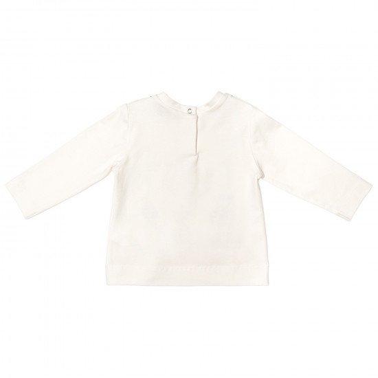 Блуза с дълъг ръкав и принт- рокля  MONNALISA