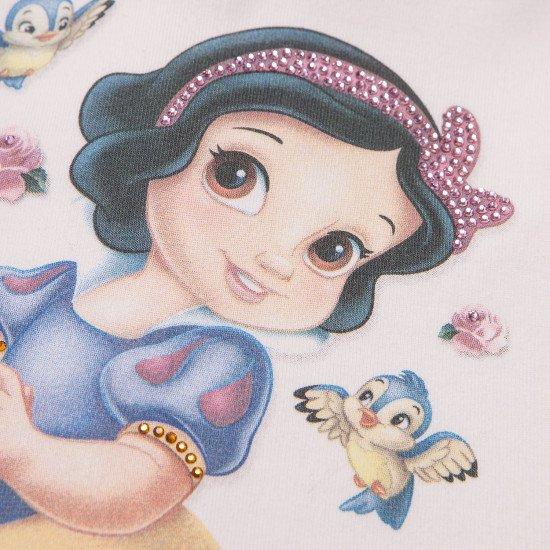 """Бебешка туника """"Снежанка"""" с плисе гръб на MONNALISA"""