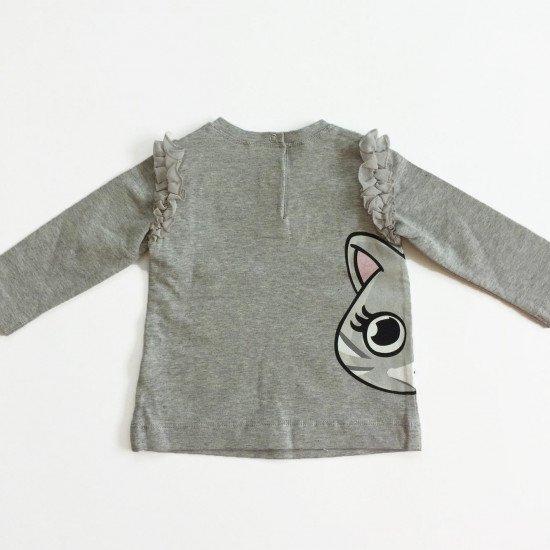 """Бебешка блуза с харбали """"Коте"""" на MONNALISA"""