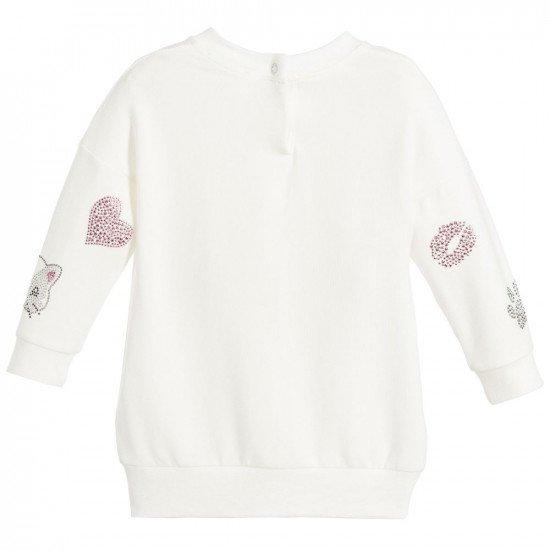 "Бебешка зимна рокля на ""Диаманти""  MONNALISA"
