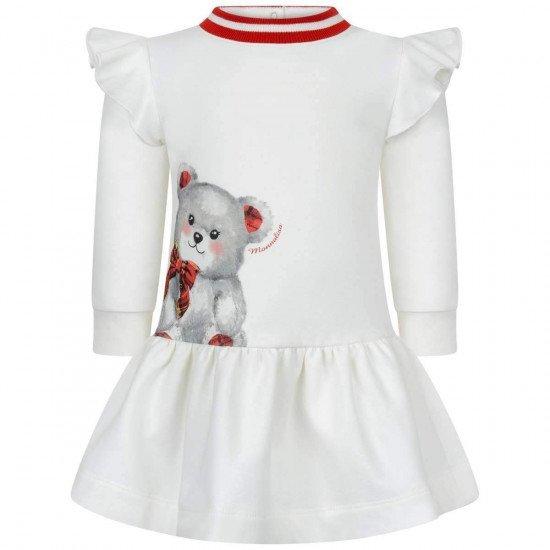 """Бебешка зимна рокля """"Мече"""""""