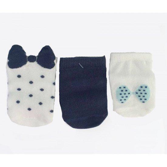 """Къси пролетни чорапи """"панделка"""" за момиче на step"""