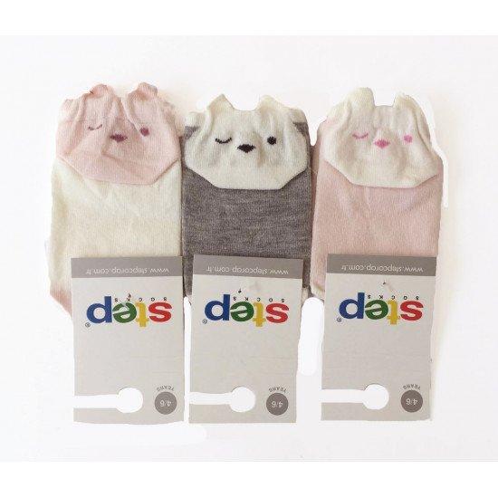 Детски къси чорапи за момиче Step