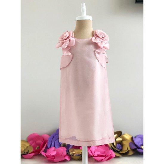 "Детска лятна рокля ""Роза"""