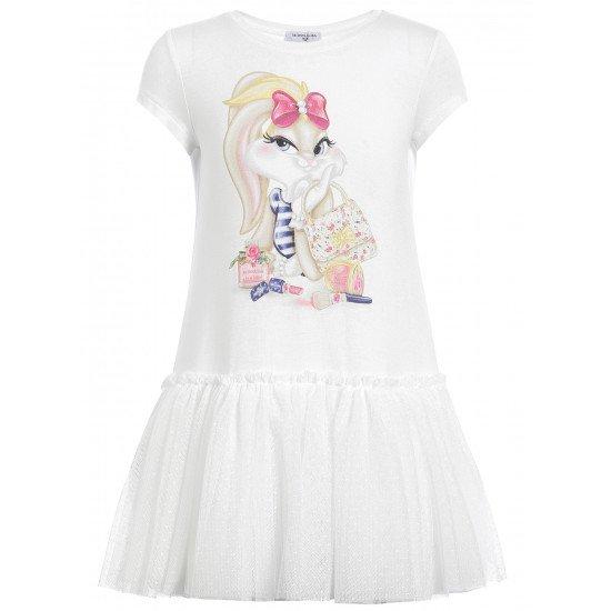 Детска лятна рокля със зайчето Лола